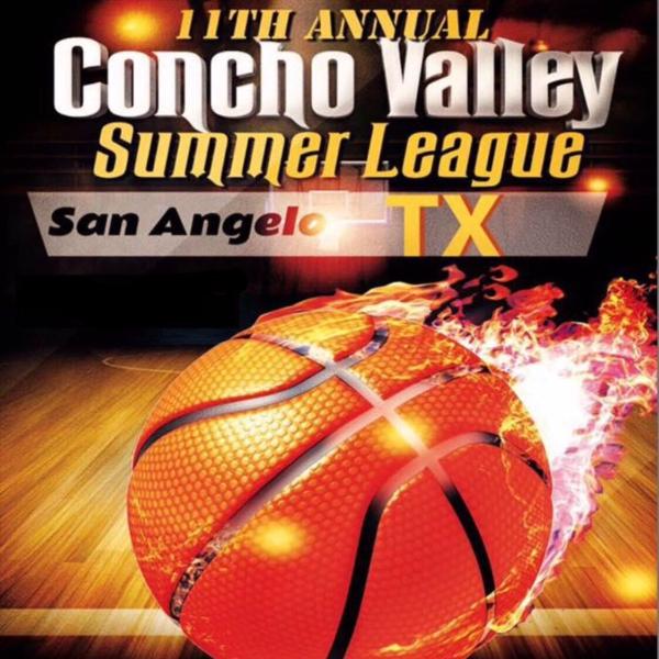 CONCHO VALLEY SAN ANGELO SUMMER LEAGUE BASKETBALL By Concho